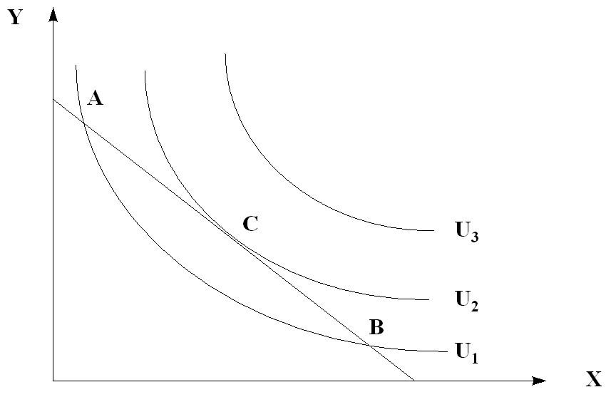 Решение задач на построение кривых безразличия решение задач по информатике часть 1